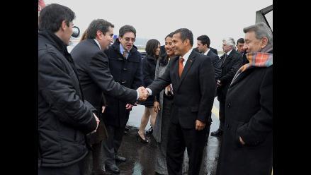 Presidente Humala expresa su solidaridad con países europeos en crisis