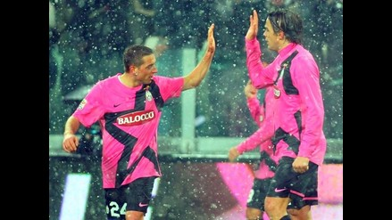 Juventus superó a Udinese con goles de Matri y lidera firme en Italia