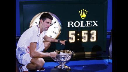 Final Djokovic vs Nadal, la más larga en la historia de los Grand Slam