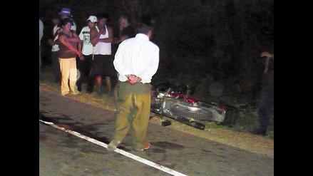 Puno: Motociclista muere al chocar frontalmente contra ómnibus