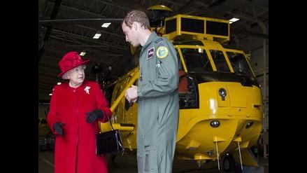 Príncipe Guillermo entrenará como piloto de rescate en Islas Malvinas