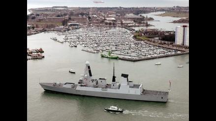 Gobierno británico enviará un barco de guerra a las islas Malvinas