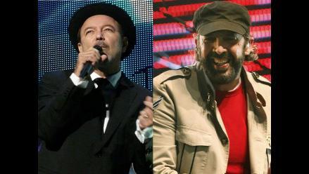 Rubén Blades y Juan Luis Guerra juntos en concierto en Puerto Rico