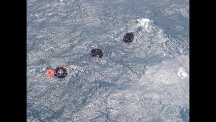 Rescatan a 193 náufragos de barco hundido en Papúa Nueva Guinea