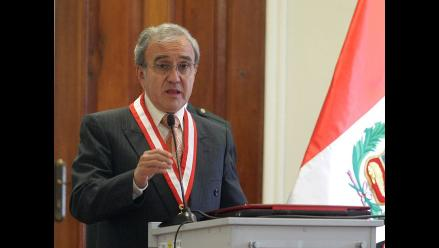 Presidente del JNE declarará en juicio Chavín de Huantar el lunes 6