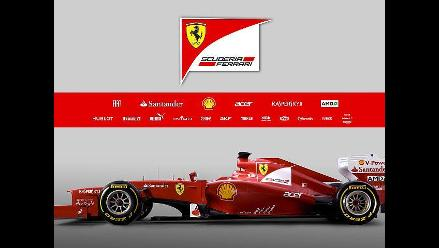 Conozca el nuevo monoplaza de Ferrari para el mundial de Fórmula Uno