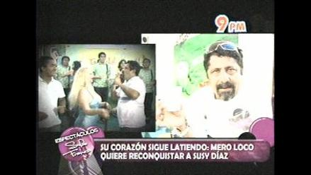 Mero Loco: ´La reconciliación con Susy Díaz está dada´