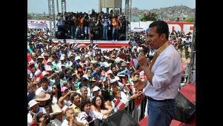 Áncash: Presidente Humala inaugura obras de electrificación en Moro