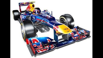 Sebastian Vettel y Mark Webber presentaron el Red Bull RB8