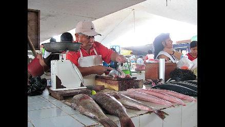 En 50% se incrementó el precio de pescados en Chiclayo