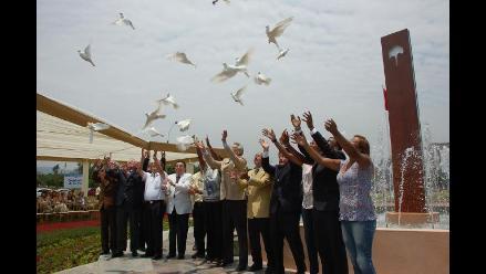 Inauguran monumento a la Paz en rechazo a actos de violencia