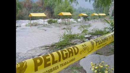 Huarochirí: Desborde del río Santa Eulalia inunda cinco clubes campestres