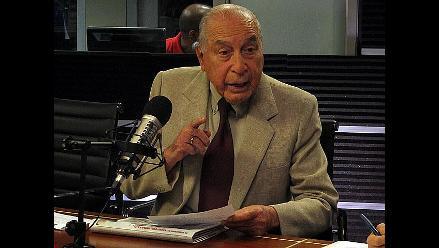 Francisco Morales Bermúdez: ´Fuerzas Armadas no deben gobernar nunca´