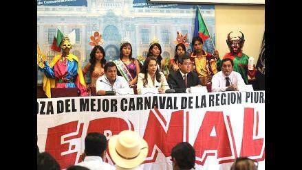 Piura presentó su carnaval en el Congreso de la República