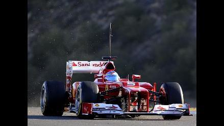 Ferrari comenzó entrenamientos de cara al mundial de Fórmula Uno
