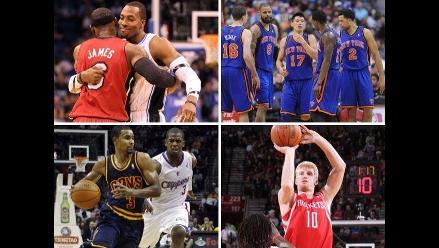 Conozca todos los resultados de la última fecha de la NBA