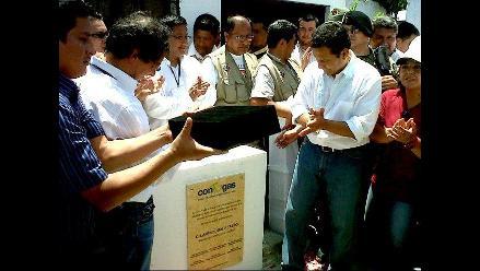 Ollanta Humala visitó zona afectada por terremoto del 2007 en Pisco