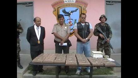 Huánuco: Decomisan 42 kilos de clorhidrato de cocaína en un vehículo