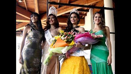 Nicole Faveron y Giuliana Zevallos, las dos nuevas soberanas del Perú