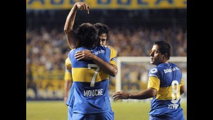 Boca Juniors debutó en el Clausura argentino ganando 2-0 al Olimpo