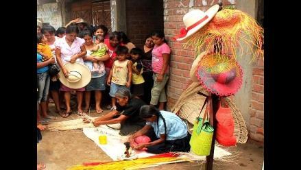 Catacaos es la cuna de la confección del sombrero de paja en Piura 3750c5372cf