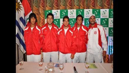 Copa Davis: Perú buscará en dobles descontar resultado ante Uruguay