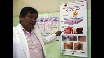 Junín ocupa el cuarto lugar de casos de cáncer a la piel en el Perú