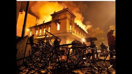 Grecia: Plan de austeridad provoca revueltas en Atenas