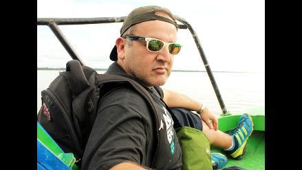 Beto Ortiz visitó distrito de Las Amazonas en Loreto