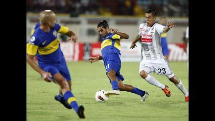 Boca Juniors iguala con Zamora en debut de xeneizes en Libertadores 2012