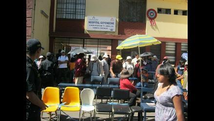 Lluvias afectan infraestructuras de hospitales en Arequipa