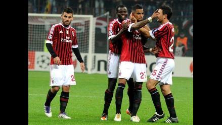 Incidencias del Milan vs. Arsenal por octavos de la Champions League