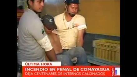 Incendio en penal de Honduras deja varios muertos