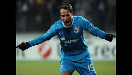 Heroica victoria del Zenit sobre Benfica por Liga de Campeones
