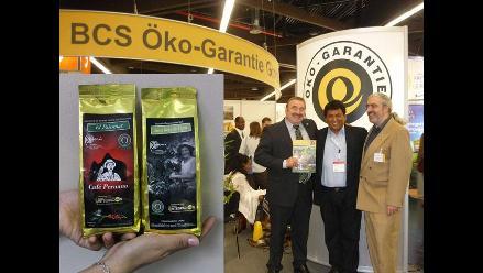 José Jorge exhibe productos peruanos en Alemania