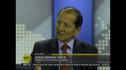 Merino: Nueva norma contra la minería ilegal empodera al Gobierno