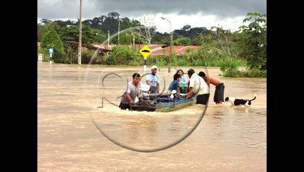 Madre de Dios: Piden urgente ayuda para Iñapari tras desborde de ríos