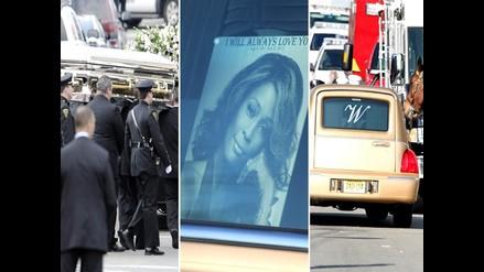 Dan último adiós a Whitney Houston en su funeral de Nueva Jersey