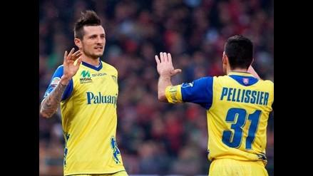 Con Rinaldo Cruzado, el Chievo venció al próximo equipo de Andy Polo