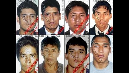 Conozca a los delincuentes que fugaron de penal de Challapalca en Puno