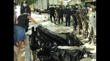 Honduras: fuerzan entrada a morgue para reconocer a víctimas de incendio