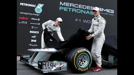 Conozca el nuevo Monoplaza F1 W03 que usará Mercedes en el 2012