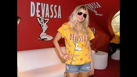 Fergie llevó su belleza al Carnaval de Rio