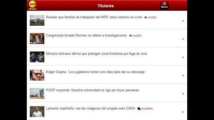 Acércate al mundo con la aplicación RPP Noticias para Blackberry