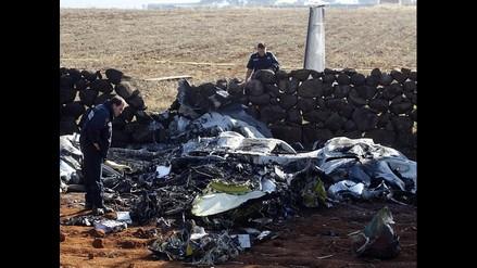 Avioneta de la Policía Federal se desplomó en estado Jalisco de México