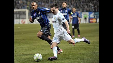 Inter perdió 1-0 con el Olympique de Marsella al último minuto