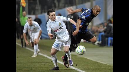 Estas fueron las mejores postales del Olympique de Marsella vs. Inter