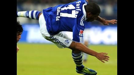 Vea en acción a Jefferson Farfán en triunfo del Schalke por Euroliga