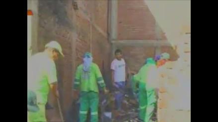 Callao: Familia damnificada tras incendio recibirá casa prefabricada