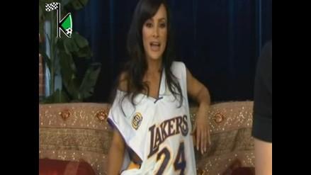 Lisa Ann, la reina del cine para adultos, se declara fan de los Lakers